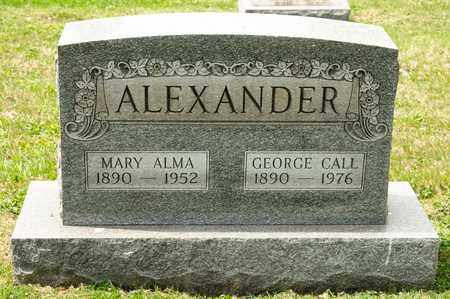 ALEXANDER, MARY ALMA - Richland County, Ohio | MARY ALMA ALEXANDER - Ohio Gravestone Photos