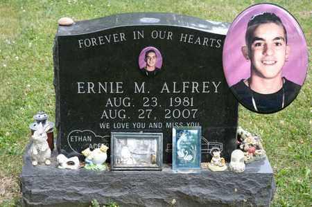 ALFREY, ERNIE M - Richland County, Ohio | ERNIE M ALFREY - Ohio Gravestone Photos