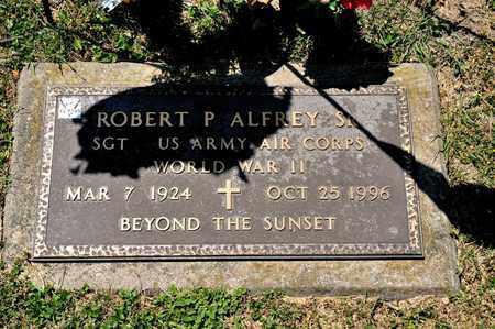 ALFREY SR, ROBERT P - Richland County, Ohio | ROBERT P ALFREY SR - Ohio Gravestone Photos