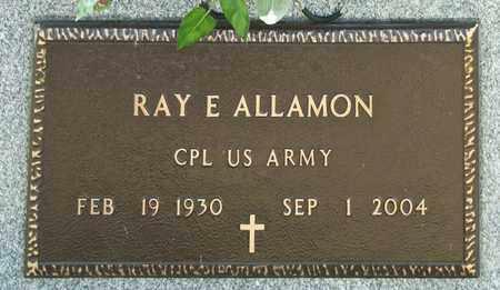 ALLAMON, RAY E - Richland County, Ohio | RAY E ALLAMON - Ohio Gravestone Photos