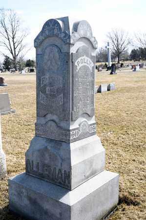 ALLEMAN, JOHN - Richland County, Ohio | JOHN ALLEMAN - Ohio Gravestone Photos