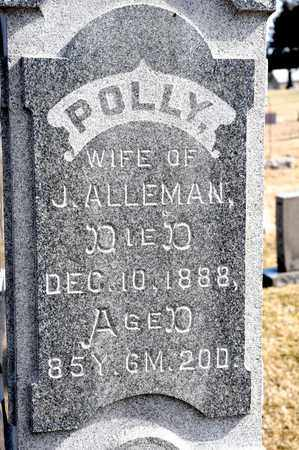 ALLEMAN, POLLY - Richland County, Ohio | POLLY ALLEMAN - Ohio Gravestone Photos