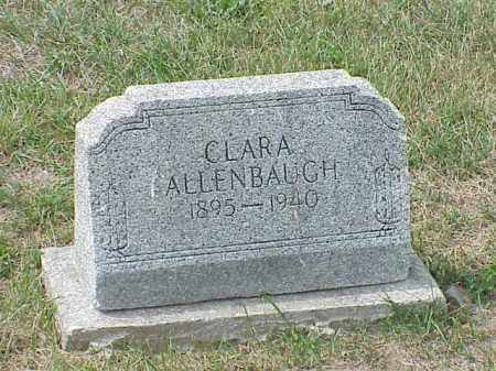 ALLENBAUGH, CLARA - Richland County, Ohio | CLARA ALLENBAUGH - Ohio Gravestone Photos