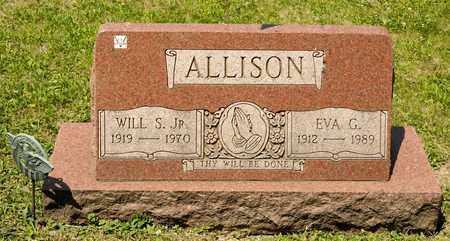 ALLISON, EVA G - Richland County, Ohio | EVA G ALLISON - Ohio Gravestone Photos