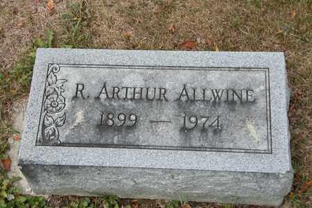 ALLWINE, R ARTHUR - Richland County, Ohio | R ARTHUR ALLWINE - Ohio Gravestone Photos