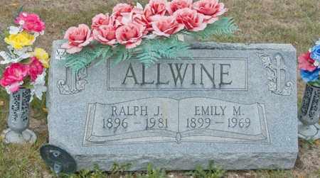 ALLWINE, EMILY M - Richland County, Ohio | EMILY M ALLWINE - Ohio Gravestone Photos