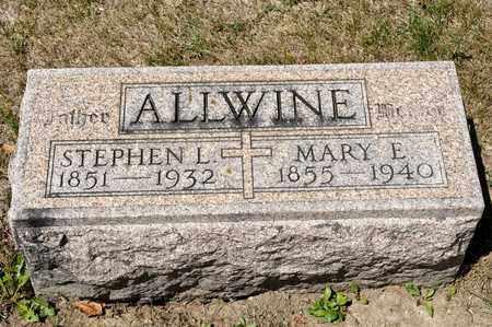 ALLWINE, STEPHEN L - Richland County, Ohio | STEPHEN L ALLWINE - Ohio Gravestone Photos
