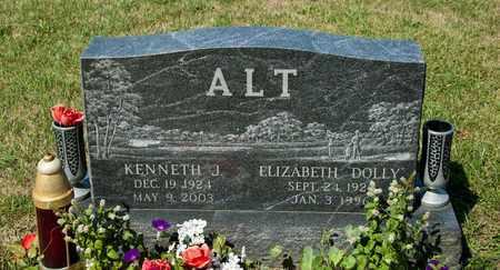 ALT, ELIZABETH - Richland County, Ohio | ELIZABETH ALT - Ohio Gravestone Photos
