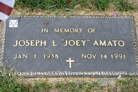 AMATO, JOSEPH L - Richland County, Ohio   JOSEPH L AMATO - Ohio Gravestone Photos