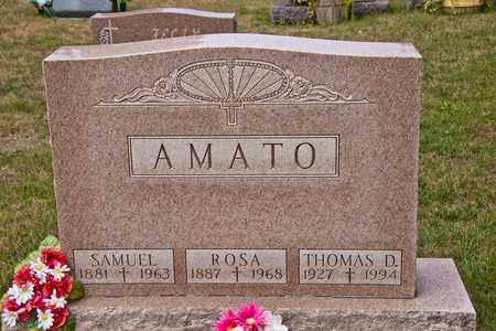 AMATO, THOMAS D - Richland County, Ohio | THOMAS D AMATO - Ohio Gravestone Photos