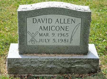 AMICONE, DAVID ALLEN - Richland County, Ohio   DAVID ALLEN AMICONE - Ohio Gravestone Photos