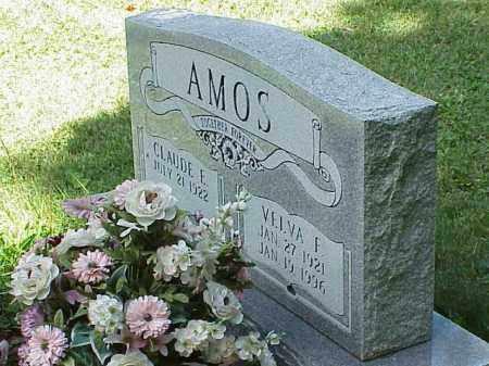 AMOS, VELVA F. - Richland County, Ohio | VELVA F. AMOS - Ohio Gravestone Photos