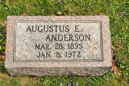 ANDERSON, AUGUSTUS E - Richland County, Ohio | AUGUSTUS E ANDERSON - Ohio Gravestone Photos
