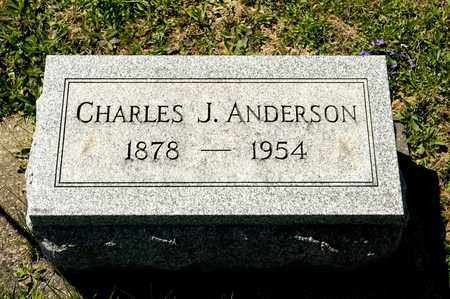 ANDERSON, CHARLES J - Richland County, Ohio | CHARLES J ANDERSON - Ohio Gravestone Photos