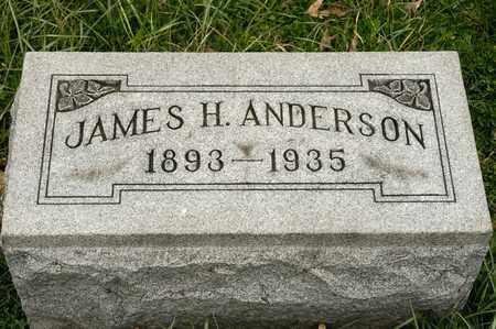 ANDERSON, JAMES H - Richland County, Ohio | JAMES H ANDERSON - Ohio Gravestone Photos