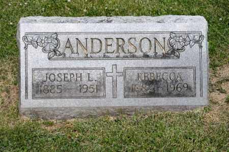 ANDERSON, REBECCA - Richland County, Ohio | REBECCA ANDERSON - Ohio Gravestone Photos