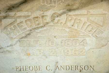 ANDERSON, PHEOBE C - Richland County, Ohio   PHEOBE C ANDERSON - Ohio Gravestone Photos
