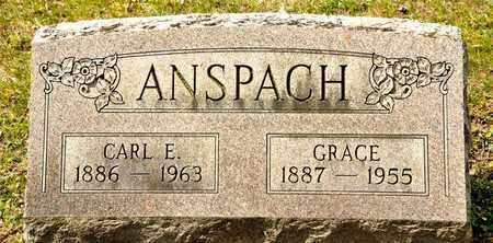 ANSPACH, CARL E - Richland County, Ohio   CARL E ANSPACH - Ohio Gravestone Photos
