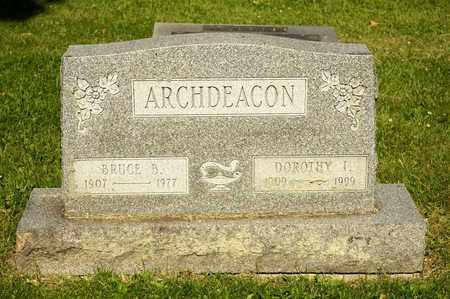 ARCHDEACON, BRUCE B - Richland County, Ohio | BRUCE B ARCHDEACON - Ohio Gravestone Photos