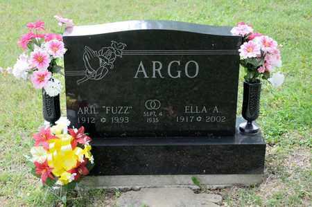 """ARGO, ARIL """"FUZZ"""" - Richland County, Ohio   ARIL """"FUZZ"""" ARGO - Ohio Gravestone Photos"""