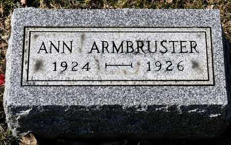 ARMBRUSTER, ANN - Richland County, Ohio | ANN ARMBRUSTER - Ohio Gravestone Photos