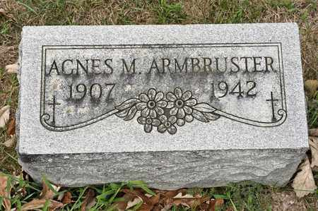 ARMBRUSTER, AGNES M - Richland County, Ohio | AGNES M ARMBRUSTER - Ohio Gravestone Photos
