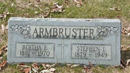 ARMBRUSTER, BERTHA E - Richland County, Ohio | BERTHA E ARMBRUSTER - Ohio Gravestone Photos