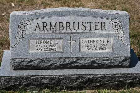ARMBRUSTER, JEROME E - Richland County, Ohio | JEROME E ARMBRUSTER - Ohio Gravestone Photos
