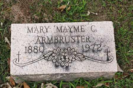 ARMBRUSTER, MARY C - Richland County, Ohio | MARY C ARMBRUSTER - Ohio Gravestone Photos