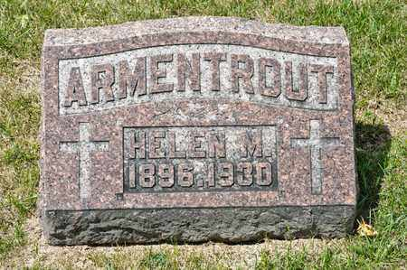 ARMENTROUT, HELEN M - Richland County, Ohio | HELEN M ARMENTROUT - Ohio Gravestone Photos