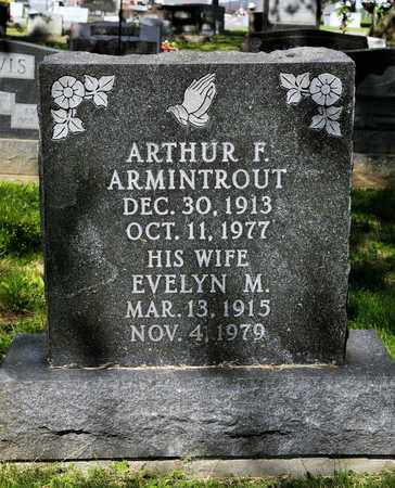 ARMINTROUT, EVELYN M - Richland County, Ohio   EVELYN M ARMINTROUT - Ohio Gravestone Photos