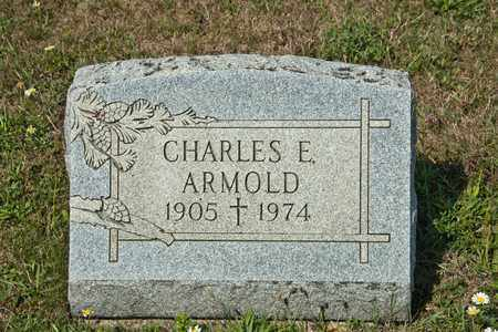 ARMOLD, CHARLES E - Richland County, Ohio   CHARLES E ARMOLD - Ohio Gravestone Photos