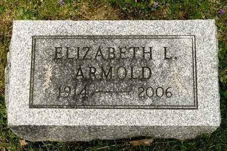 ARMOLD, ELIZABETH L - Richland County, Ohio | ELIZABETH L ARMOLD - Ohio Gravestone Photos