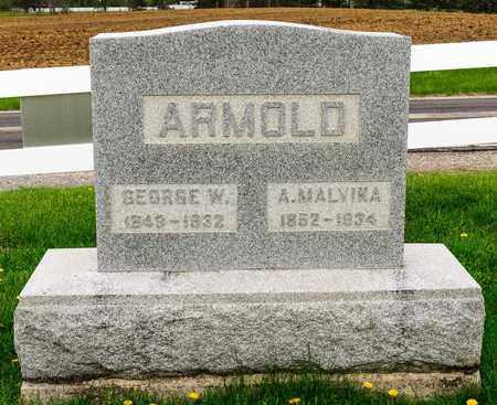 ARMOLD, GEORGE W - Richland County, Ohio | GEORGE W ARMOLD - Ohio Gravestone Photos