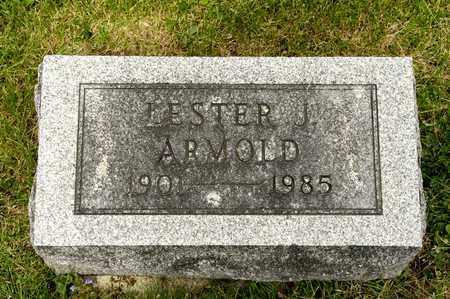 ARMOLD, LESTER J - Richland County, Ohio   LESTER J ARMOLD - Ohio Gravestone Photos
