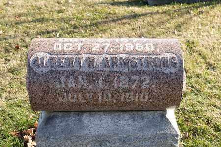 ARMSTRONG, ALBERT R - Richland County, Ohio   ALBERT R ARMSTRONG - Ohio Gravestone Photos
