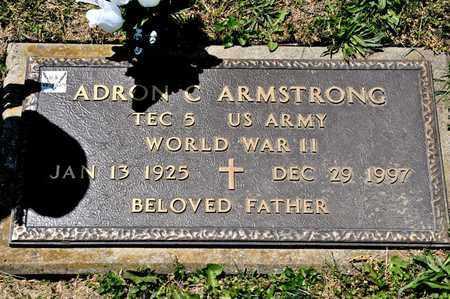 ARMSTRONG, ADRON C - Richland County, Ohio | ADRON C ARMSTRONG - Ohio Gravestone Photos