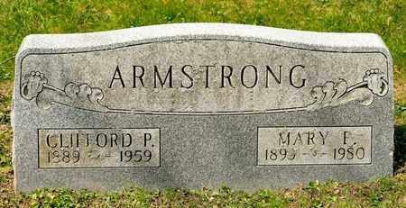 ARMSTRONG, MARY E - Richland County, Ohio | MARY E ARMSTRONG - Ohio Gravestone Photos