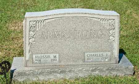 ARMSTRONG, CHARLES E - Richland County, Ohio   CHARLES E ARMSTRONG - Ohio Gravestone Photos