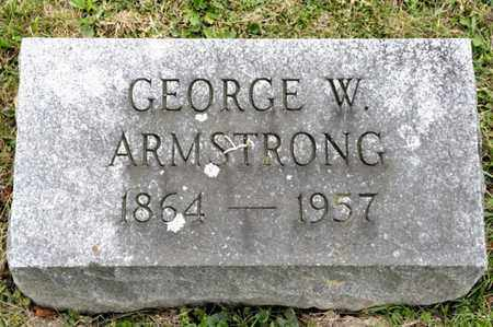 ARMSTRONG, GEORGE W - Richland County, Ohio | GEORGE W ARMSTRONG - Ohio Gravestone Photos