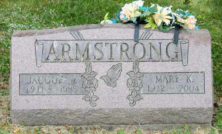ARMSTRONG, MARY K - Richland County, Ohio | MARY K ARMSTRONG - Ohio Gravestone Photos