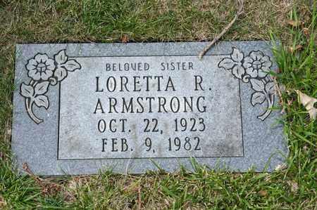 ARMSTRONG, LORETTA R - Richland County, Ohio   LORETTA R ARMSTRONG - Ohio Gravestone Photos