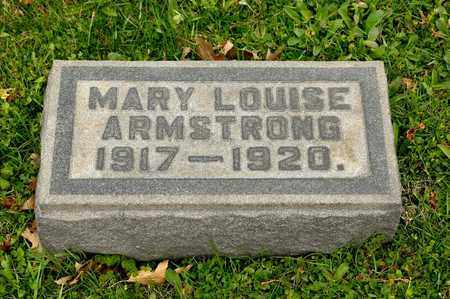 ARMSTRONG, MARY LOUISE - Richland County, Ohio   MARY LOUISE ARMSTRONG - Ohio Gravestone Photos