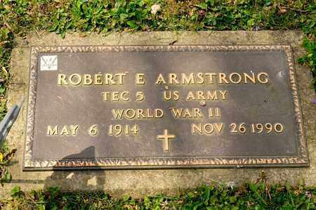 ARMSTRONG, ROBERT E - Richland County, Ohio   ROBERT E ARMSTRONG - Ohio Gravestone Photos