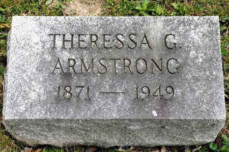 ARMSTRONG, THERESSA G - Richland County, Ohio   THERESSA G ARMSTRONG - Ohio Gravestone Photos