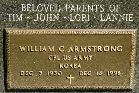 ARMSTRONG, WILLIAM C - Richland County, Ohio | WILLIAM C ARMSTRONG - Ohio Gravestone Photos
