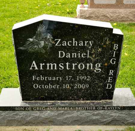 ARMSTRONG, ZACHARY DANIEL - Richland County, Ohio | ZACHARY DANIEL ARMSTRONG - Ohio Gravestone Photos