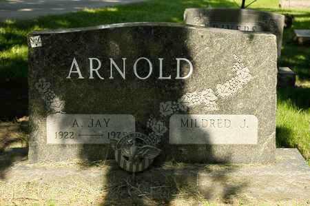 ARNOLD, A JAY - Richland County, Ohio   A JAY ARNOLD - Ohio Gravestone Photos