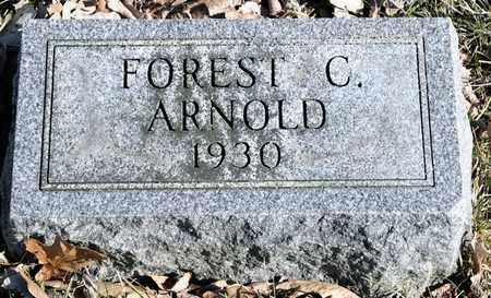ARNOLD, FOREST C - Richland County, Ohio | FOREST C ARNOLD - Ohio Gravestone Photos