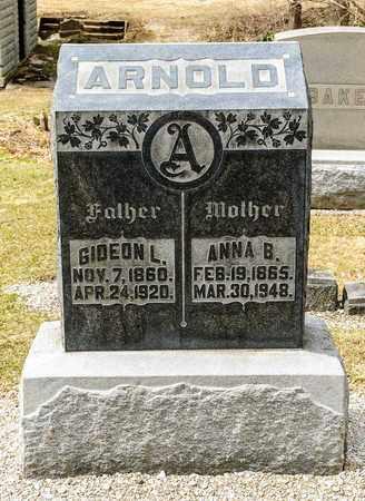 ARNOLD, ANNA B - Richland County, Ohio   ANNA B ARNOLD - Ohio Gravestone Photos